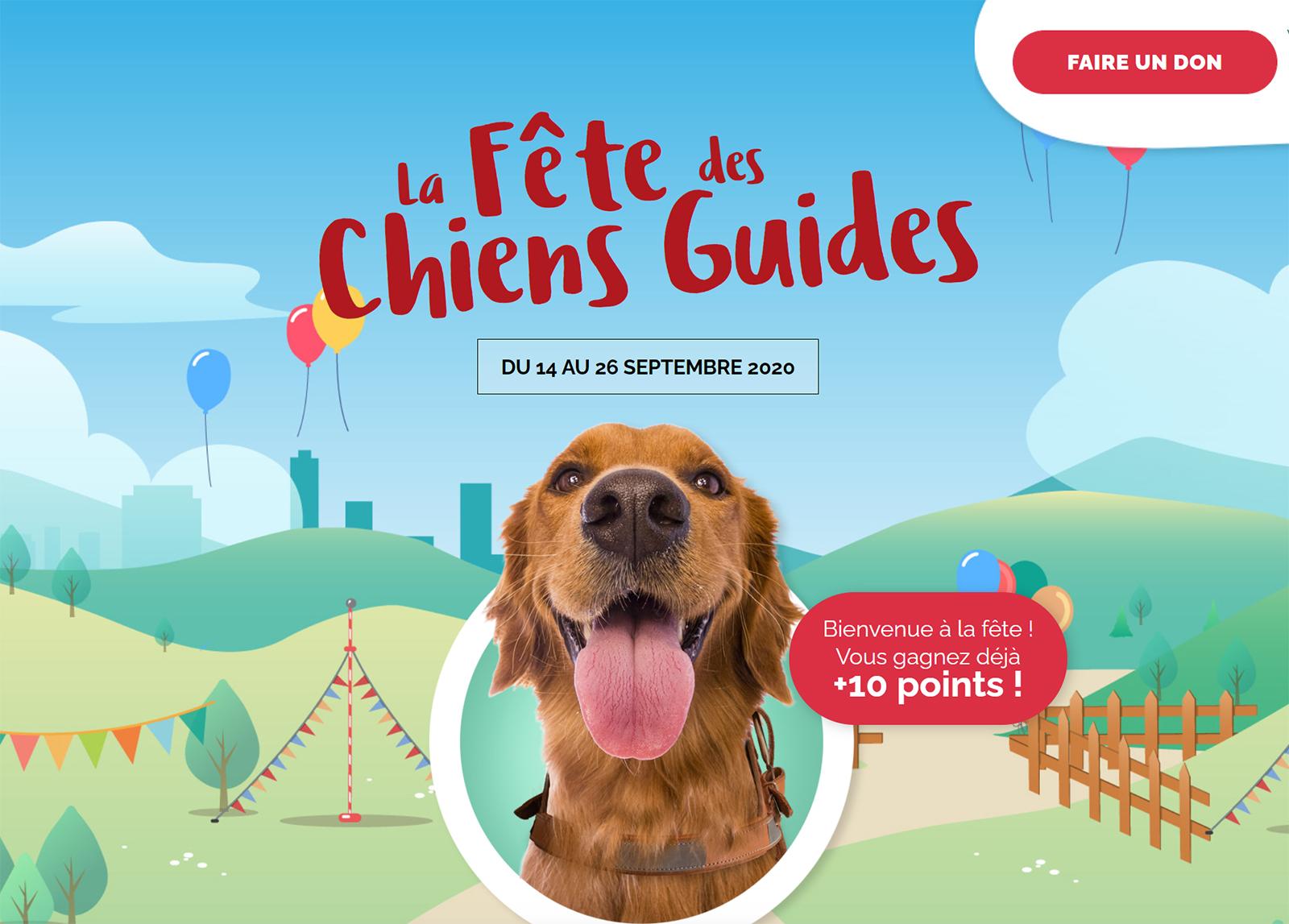 La fête du Chien Guide !