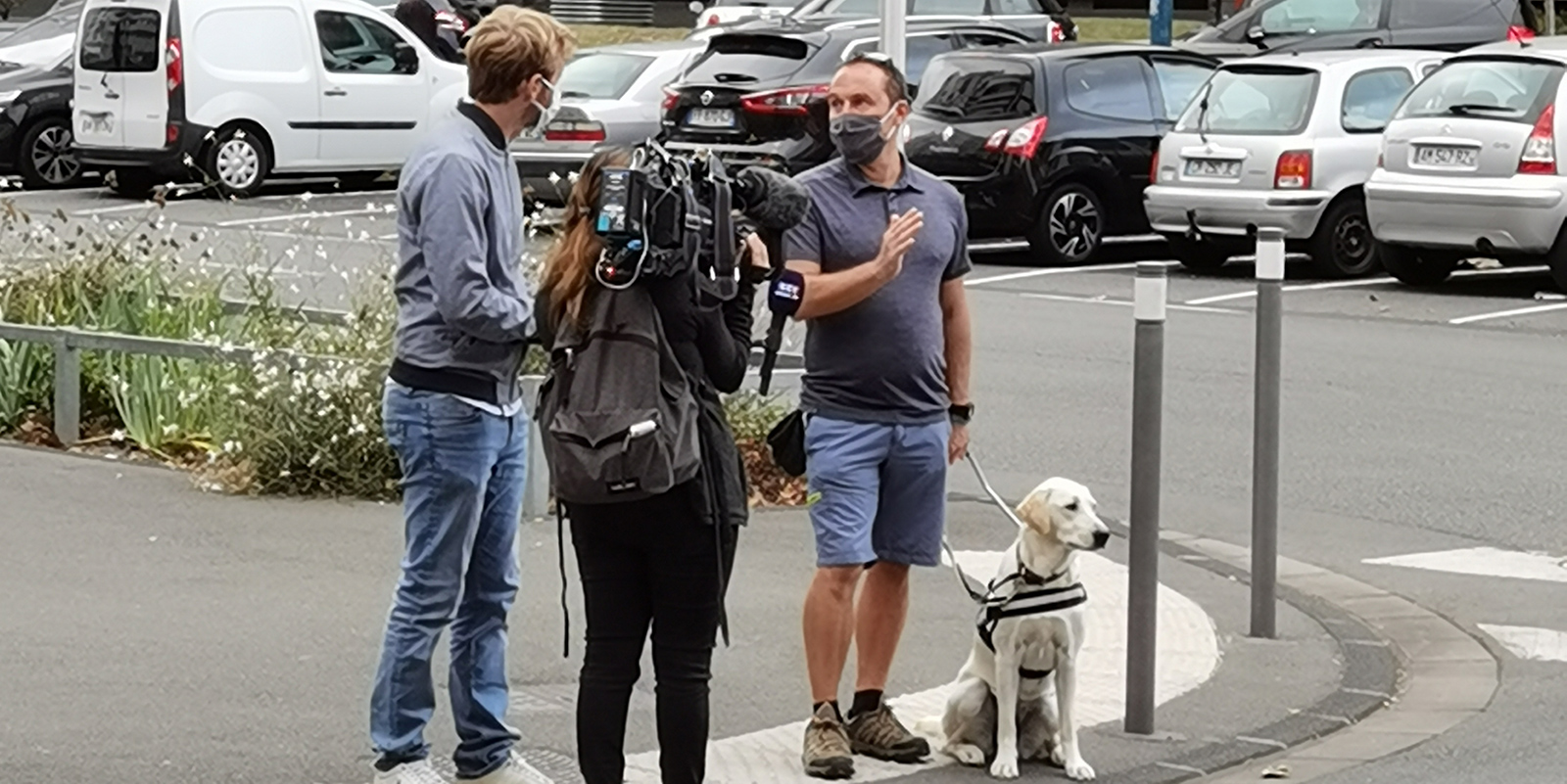Reportage TF1 : Backstage!